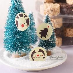 สติ๊กเกอร์ชุด : Christmas Stickers