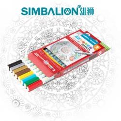 [สีเขียนเซรามิค] Painted ceramics Pen (8 สี)