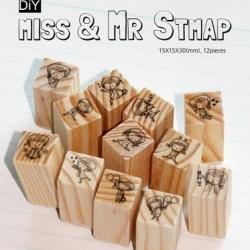 ตัวปั้ม Miss and Mr STAMP