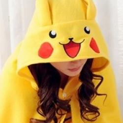 ชุดคลุมไหล่-ปิกาชู (Pikachu)