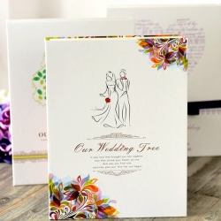 สมุด-Fingerprint Wedding books