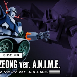 [P-Bandai] Robot Spirits (SIDE MS) MSN-02 Zeong Ver. ANIME