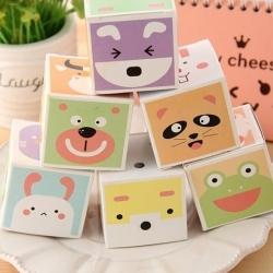 กระดาษโน๊ต-Sticky Cute Animals