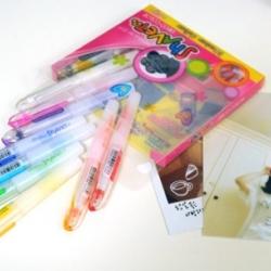 ปากกาสี- mini jelly color pen