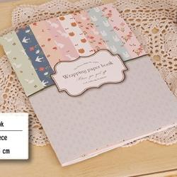 ชุดกระดาษห่อของขวัญ Paper Book Pastel