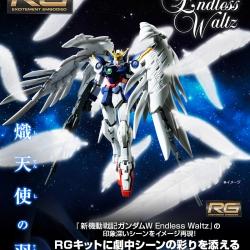 [P-Bandai] RG 1/144 Wing Gundam Zero Custom EW 'Seraphim Feather' Effect Part Set