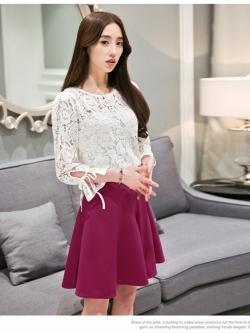 แฟชั่นเกาหลี set เสื้อ และกระโปรงสวยๆ ครับ