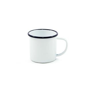 Enamel Mug 9cm (Rim Colors)