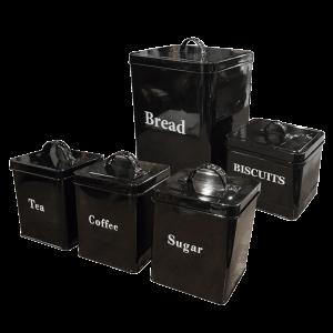 Tin Storage (Set of 5)