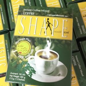 กาแฟคอฟฟี่เชพ มะรุม ลดน้ำหนัก coffee shape รับประกันแท้ 100%