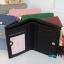 พร้อมส่ง รหัส L355-10 สีดำ กระเป๋าสตางค์ Forever young 2 พับสั้นแต่งป้ายโลโก้สีทอง thumbnail 4