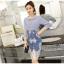 เสื้อผ้าแฟชั่นเกาหลี set เสื้อ และกระโปรงสวยเก๋สวยมากๆ thumbnail 3
