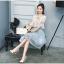 แฟชั่นเกาหลีน่ารักๆ set เสื้อและกระโปรงสวยหวานครับ thumbnail 7