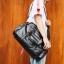 Pre-order กระเป๋าผู้ชายนักธุรกิจ ใส่เอกสาร ใส่คอม14 นิ้ว กระเป๋าสะพายเดินทาง กระเป๋านักธุรกิจแฟขั่นเกาหลี รหัส Man-9894 สีดำ thumbnail 1