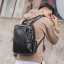 Pre-order กระเป๋าเป้สะพายหลัง เป้นักเรียนผู้ชาย เป้หนัง เป้เดินทาง แฟชั่นเกาหลี รหัส Man-6530 สีดำ thumbnail 2