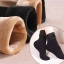 S503 **พร้อมส่ง** (ปลีก+ส่ง) ถุงเท้าบุขน กันหนาว ใส่ในอุณหภูมิติดลบได้ ใส่ได้ทั้งชายและหญิง สีดำ เนื้อดี งานนำเข้า(Made in China) thumbnail 2
