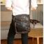 Pre-order กระเป๋าหนัง ผู้ชายสะพายข้าง ใส่ tab 8 นิ้ว แฟขั่นเกาหลี รหัส Man-6678 สีดำ thumbnail 2