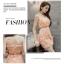 ชุดเดรสสวยๆ ตัวเสื้อผ้ารูปดอกกุหลาบสามมิติ ลายนูนออกมาจากตัวชุดสีโอรส thumbnail 7