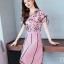 แฟชั่นเกาหลีมาใหม่ set เสื้อและกระโปรง สวยเก๋มากๆ thumbnail 3