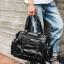 Pre-order กระเป๋าผู้ชายนักธุรกิจ ใส่เอกสาร ใส่คอม14 นิ้ว กระเป๋าสะพายเดินทาง กระเป๋านักธุรกิจแฟขั่นเกาหลี รหัส Man-9894 สีดำ thumbnail 2