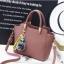 พร้อมส่ง กระเป๋าถือและสะพายข้าง ผู้หญิง แฟชั่นเกาหลี รหัส Yi-8509 สีม่วง 1 ใบ *แถมป๋อมหมี thumbnail 1