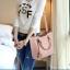 พร้อมส่ง ขายส่งกระเป๋าผู้หญิงถือและสะพายข้าง แฟชั่นเกาหลี Sunny-569 สีชมพู 1 ใบ thumbnail 1