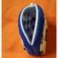 กระเป๋าผ้าใส่เหรียญ สีครีมลายเรือใบ กุ๊นสีน้ำเงิน thumbnail 3