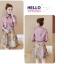 ชุดเดรสน่ารักๆ set เสื้อสูท และเดรสโทนสีชมพูกระปิ สวยมากๆ ครับ thumbnail 6