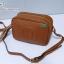 พร้อมส่ง HB-5667 สีดำ กระเป๋าสะพายหนัง PU นิ่ม แต่งพู่ห้อย ปั๊มโลโก้นูน GG square bag thumbnail 13