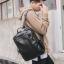 Pre-order กระเป๋าเป้สะพายหลัง เป้นักเรียนผู้ชาย เป้หนัง เป้เดินทาง แฟชั่นเกาหลี รหัส Man-6530 สีดำ thumbnail 1