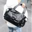 Pre-order กระเป๋าหนัง สะพายไหล่ใบใหญ่ สะพายเดินทาง กระเป๋านักธุรกิจ ใส่เอกสารหนังสือ 14 นิ้ว แฟขั่นเกาหลี รหัส Man-7717 สีดำ thumbnail 2