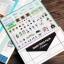 สติ๊กเกอร์ชุด : Diary Deco Pack 9 Sheets