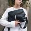 Pre-order กระเป๋าสะพายไหล่ผู้ชาย แฟขั่นเกาหลี รหัส Man-9934 สีดำ thumbnail 1