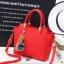 Pre-order กระเป๋าถือและสะพายข้าง ผู้หญิง แฟชั่นเกาหลี รหัส Yi-8509 สีแดง *แถมป๋อมหมี thumbnail 1