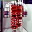 (PCX) โช้คอัพหลังคู่ YSS รุ่น G-ZA สำหรับรถรุ่น Honda PCX สี ดำ-แดง thumbnail 1