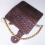 Pretty Genuine CowHide Leather in Pattern Of Crocodile Skin กระเป๋าทรงยาวอัดลายเป็นหนังจระเข้ดูเสมือนจริง80% thumbnail 4