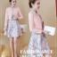 ชุดเดรสแฟชั่น set เสื้อสูท และเดรสโทนสีชมพู สวยหวานน่ารักมากๆ thumbnail 2