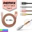 สายชาร์จ Remax RC-080a for Tyoe-C ราคา 95 บาท ปกติ 230 บาท thumbnail 1