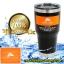 แก้วเก็บความเย็น ozarktrail ของแท้ 100% คุณภาพเหมือน yeti ขนาด 30 Oz. สีดำ