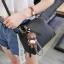 Pre-order กระเป๋ากระเป๋าถือสะพายข้างใบเล็ก แฟชั่นเกาหลี รหัส KO-146 สีดำ *แถมจี้หมีน้ำตาล thumbnail 1