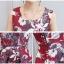 เดรสแฟชั่น Set เสื้อสูท และเดรสสีแดงเข้ม แฟชั่นเกาหลีมาใหม่ thumbnail 7