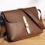 Pre-order กระเป๋าสะพายข้างผู้ชาย แฟขั่นเกาหลี รหัส Man-8906 สีน้ำตาล thumbnail 1