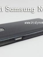 Case Samsung Note3 soft caseสีดำมุก