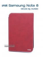 เคสหนัง samsung galaxy Note 8 สีแดง (N5100) by XUNDD