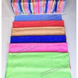 ขายส่ง ผ้าเช็ดตัวนาโน จัมโบ้ สีพื้นอัดลาย (แบบหนา) ส่ง 65 บาท