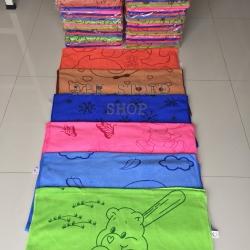 ขายส่ง ผ้าเช็ดตัวนาโน พิมพ์ลาย (แบบบาง) 70*140 cm ส่ง 28 บาท