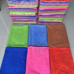 ขายส่ง ผ้าเช็ดตัวนาโน สีพื้น (แบบบาง) 70*140 cm ส่ง 28 บาท