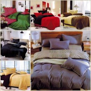 ขายส่ง ชุดเซท ผ้าปูที่นอน สีพื้น เกรดA ส่ง 120 บาท