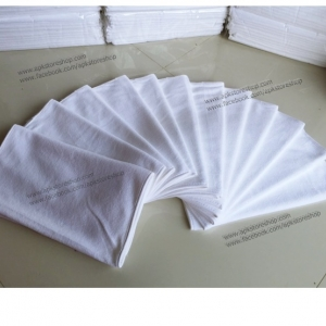 ขายส่ง ผ้าเช็ดผมนาโน สีขาว (แบบหนา) 30*70ซม. ส่ง 18 บาท