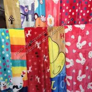ขายส่ง ผ้าห่มนาโน แบบหนา ลายการ์ตูน ส่ง 140 บาท (เย็บริมธรรมดา)